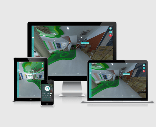 thiết kế website vr