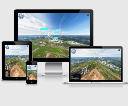 thiết kế website vr cho bất động sản