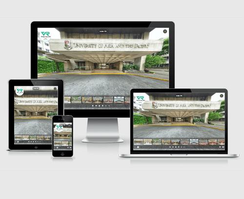 thiết kế website vr cho trường học