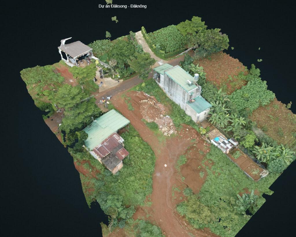 khảo sát địa hình bằng flycam